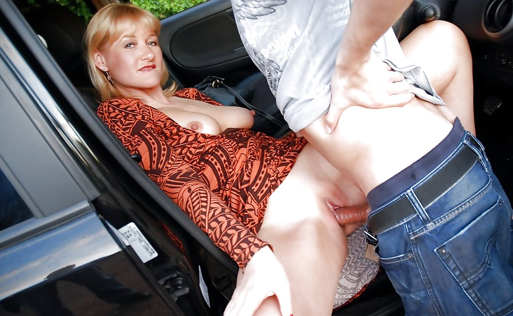 Real housewife sex in car video
