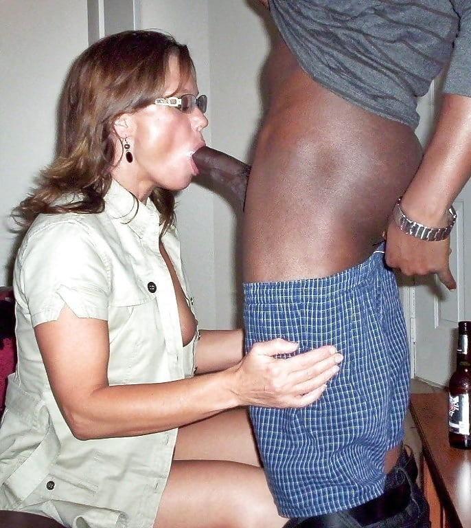 Mexican wife sucks my cock
