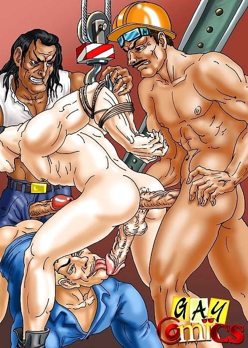 Cartoon gay porn