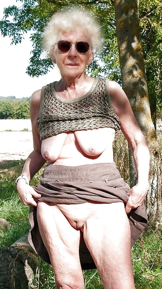Upskirt grannies