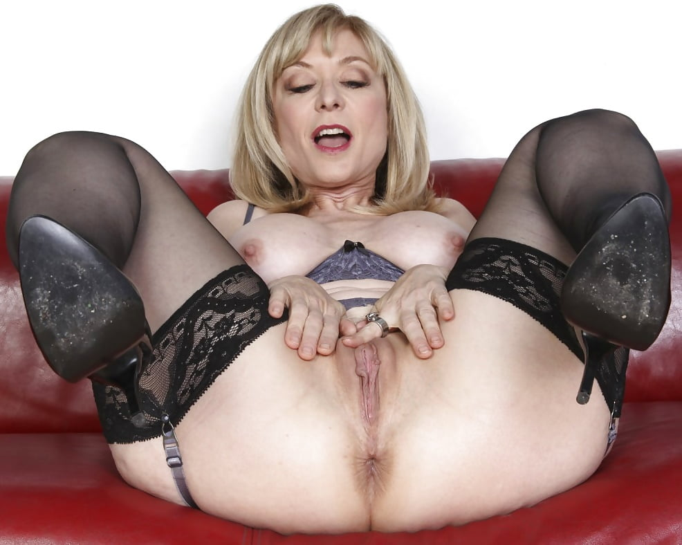 Nina Hartley In Black Stockings Gets Fucked And Takes Cum Stasyq 1