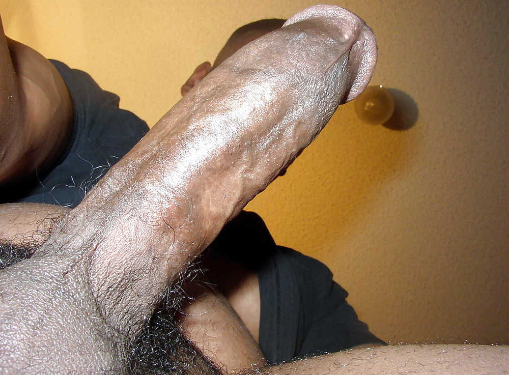 Jacking Off Big Black Dick