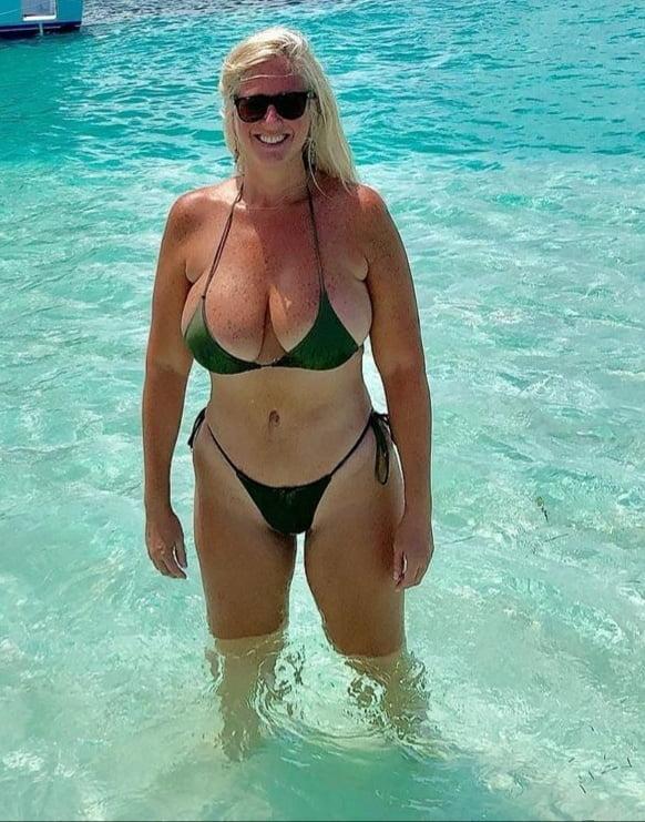 Warm Up With These Bikini MILFS 15