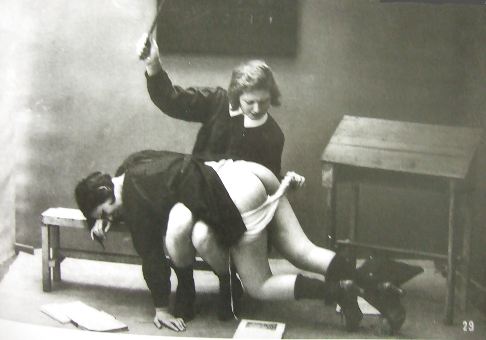 Final, vintage wife spanking can