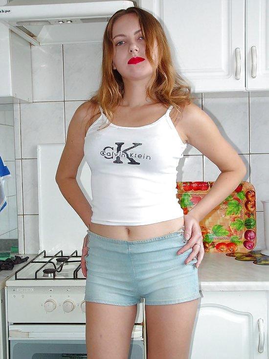 East european girl beautiful curvy non nude