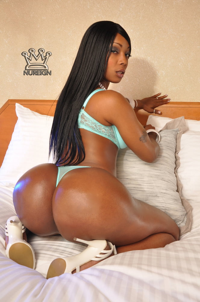 Nice ass ebony #1