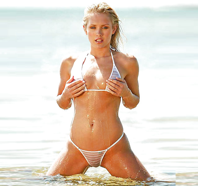 Nicky whelan see through