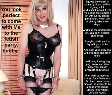 Bondage sissy in Sissy in