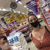 Upskirt supermarket
