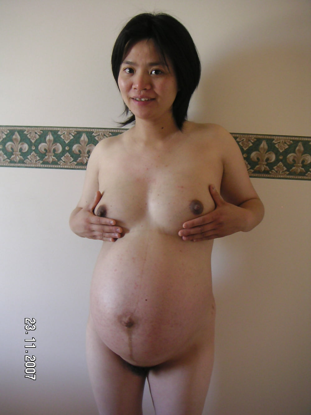 Naked japanese pregnant women — photo 7