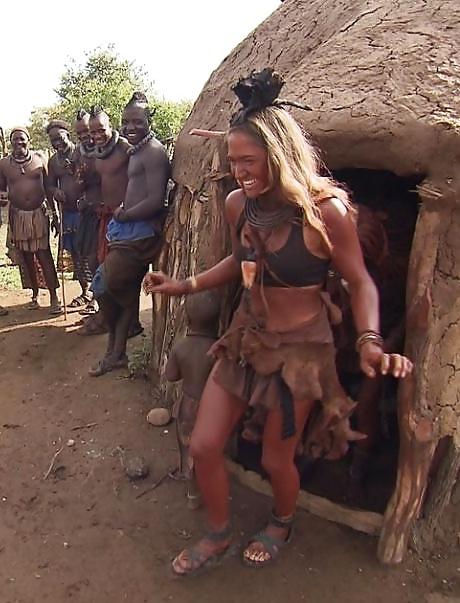 Hvid og japanske kvinder på afrikansk Sex Safari - 18 Pics-5532