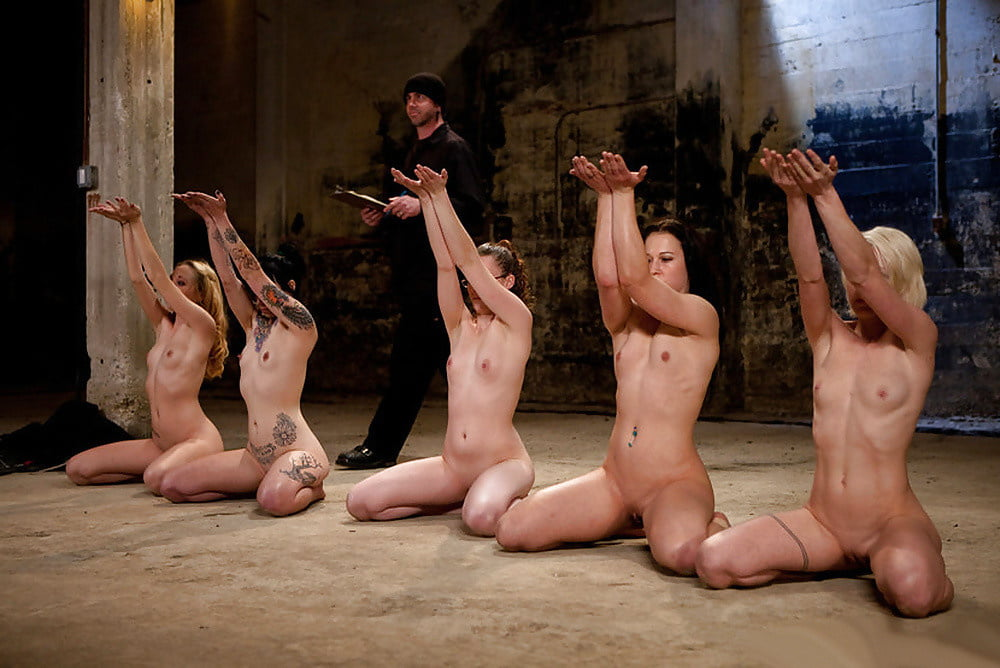 Submissive naked women sex slaves