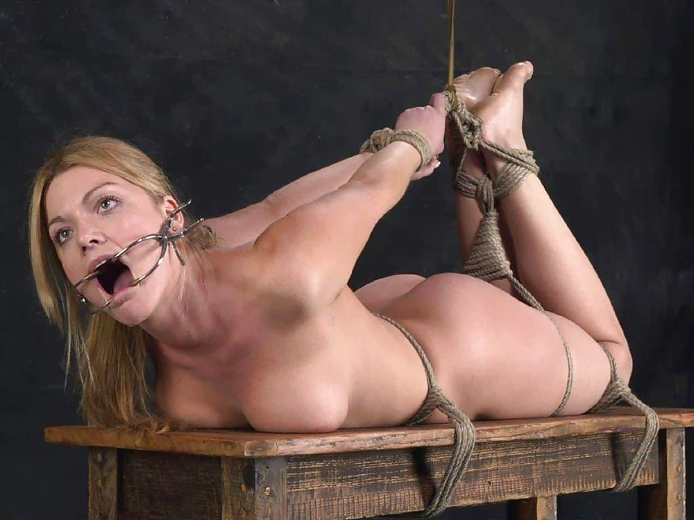 Nude girls tied up an fucked