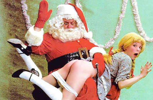 Santa spanks a girl erotic fotos