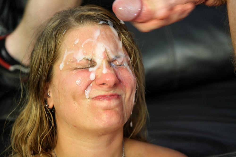 Girls That Hate Cum Getting Facials