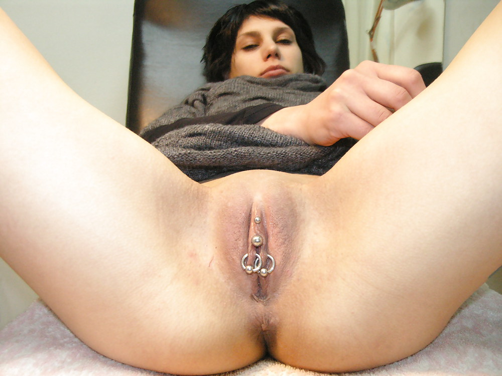 Her pussy was pierced