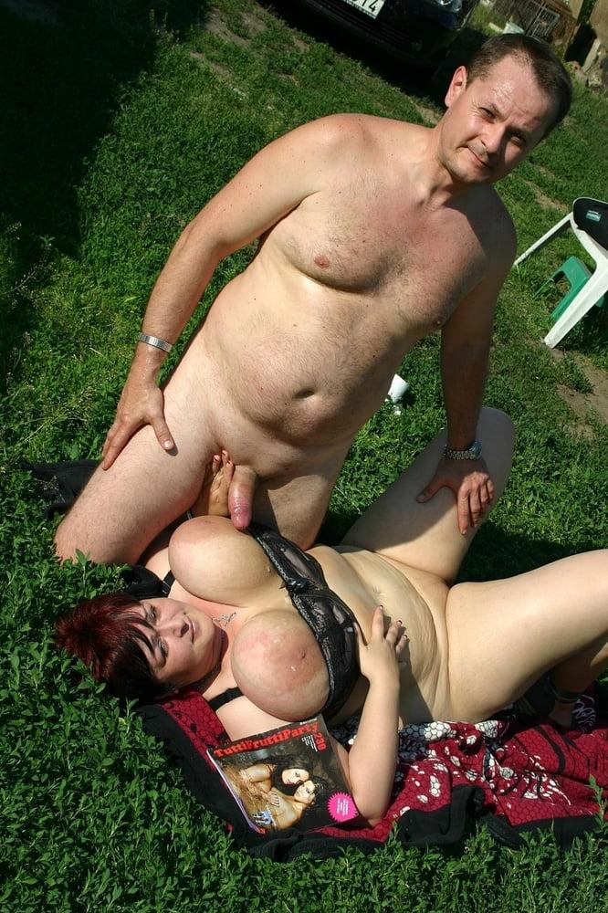 Huge boobs hand job