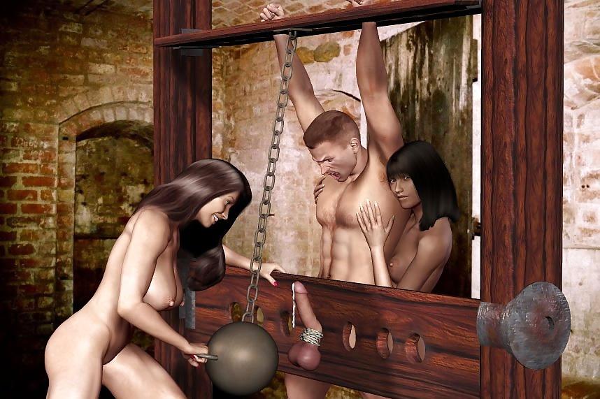 еще амазонки ловят мужиков за яйца серых мышей, замухрышек