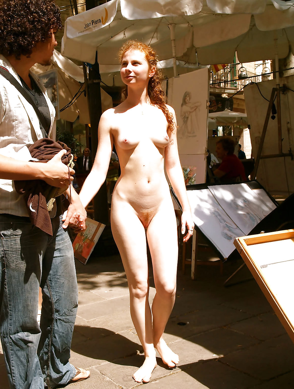 Forecaster in nude