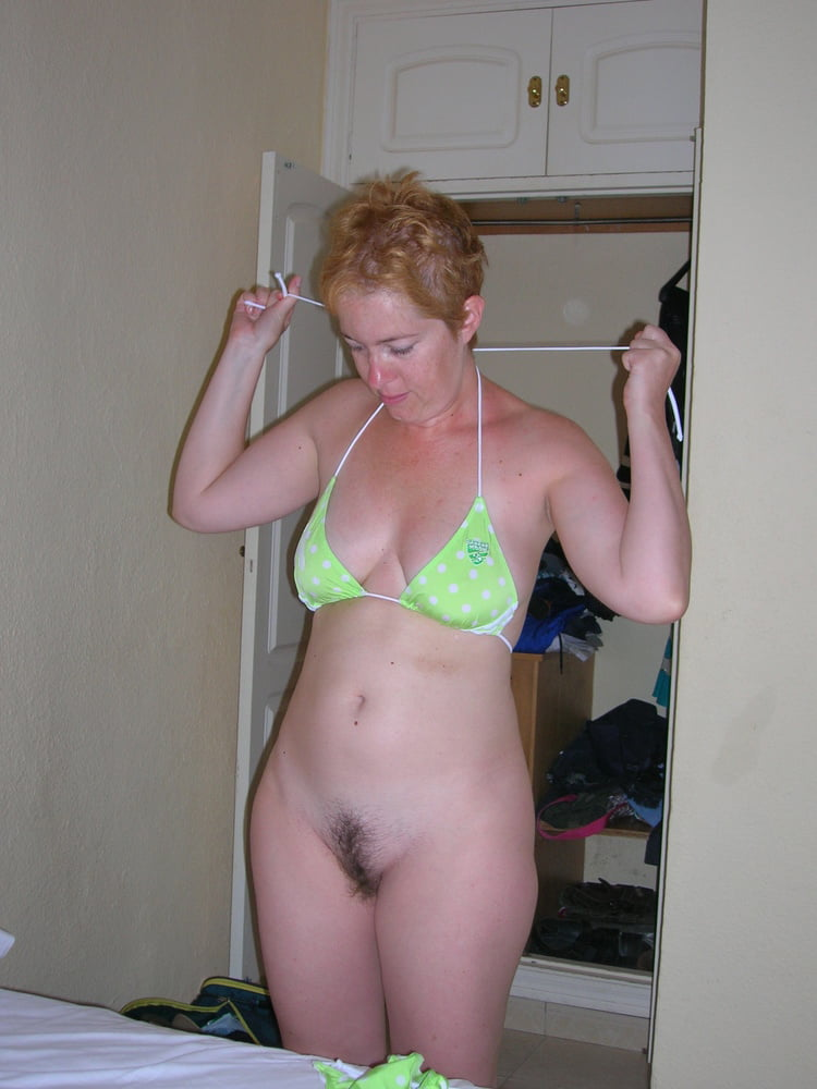 Wife gets naked in public