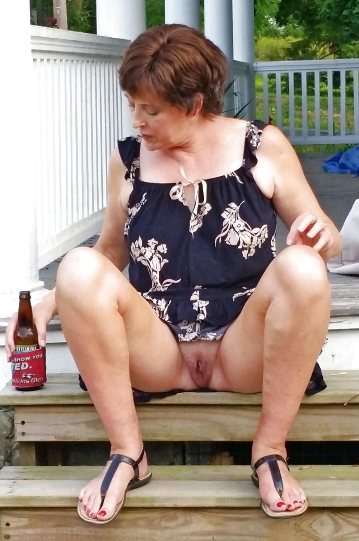 Mature women upskirt tease tube — photo 3