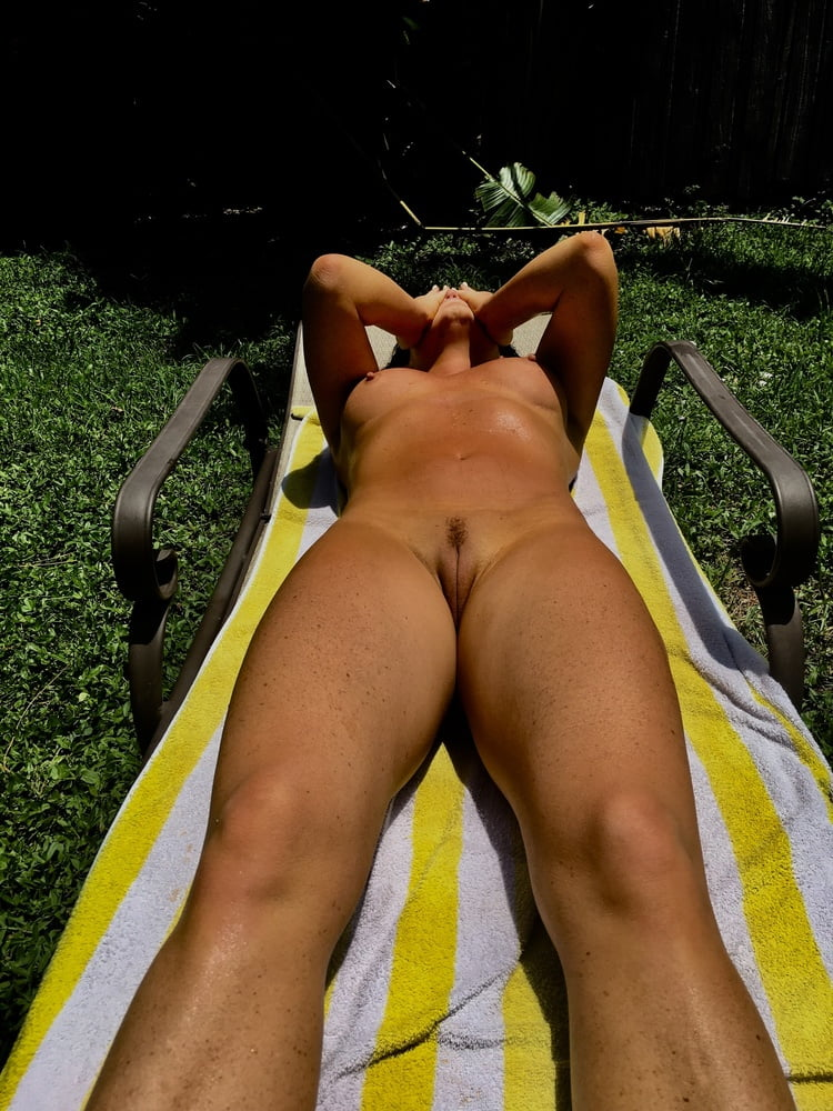 Naked females outside-5445