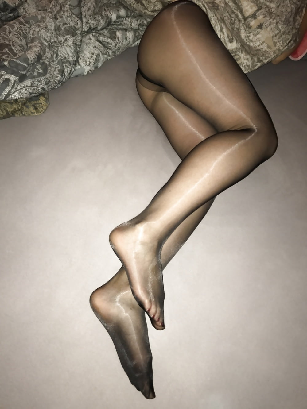 Pantyhose why nylon, not sing in porn videos