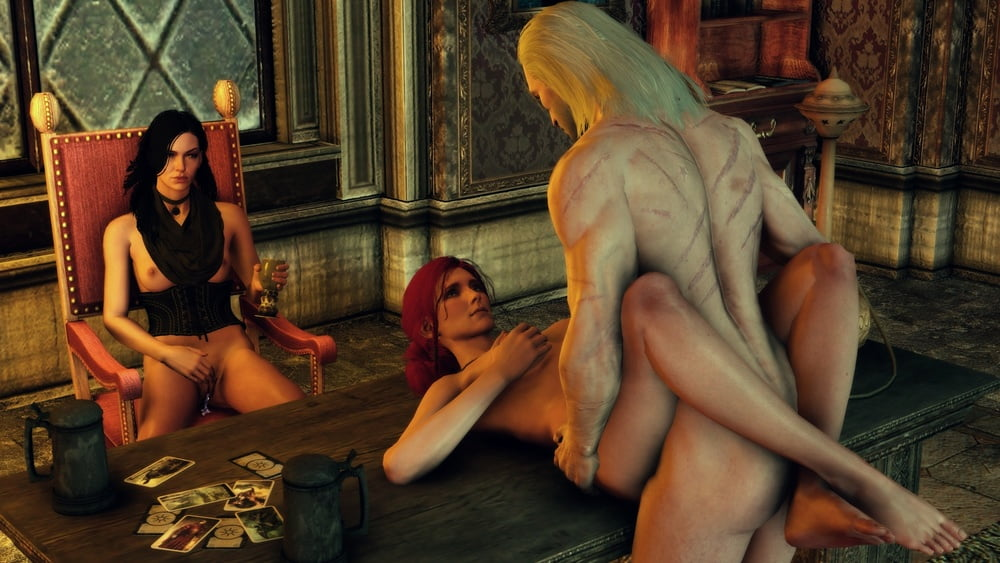 Collect all of the witcher sex cards