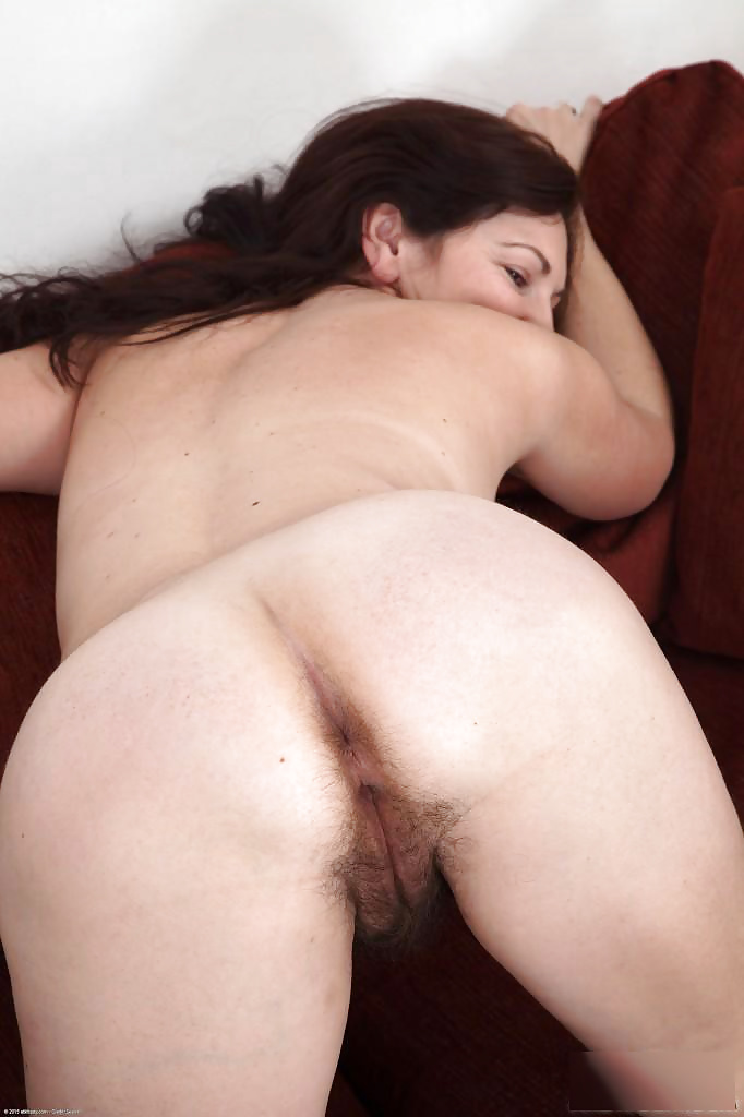 Horny hairy mature