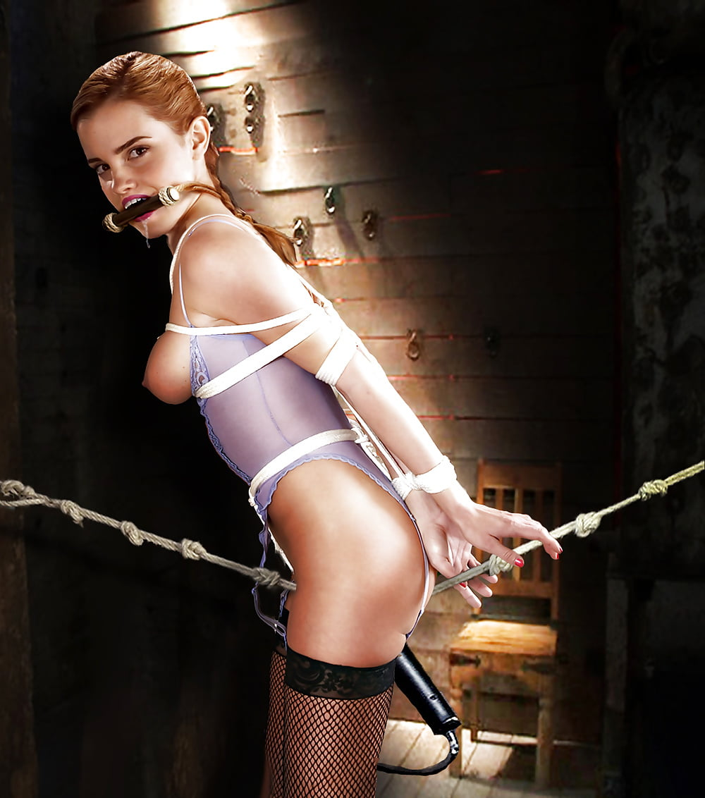 fake bondage young emma