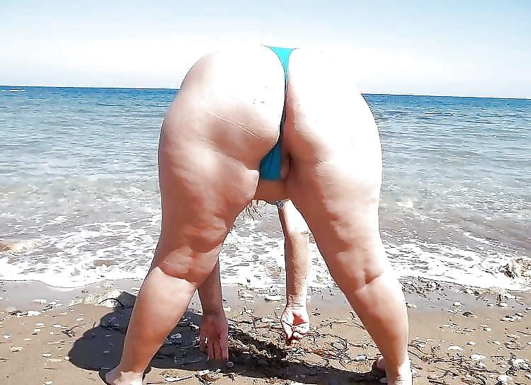 Plus size beach party
