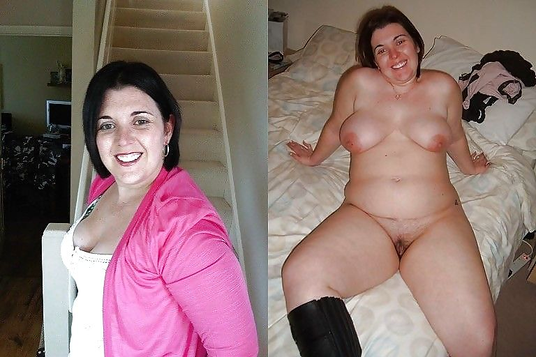 Chubby girl undressing