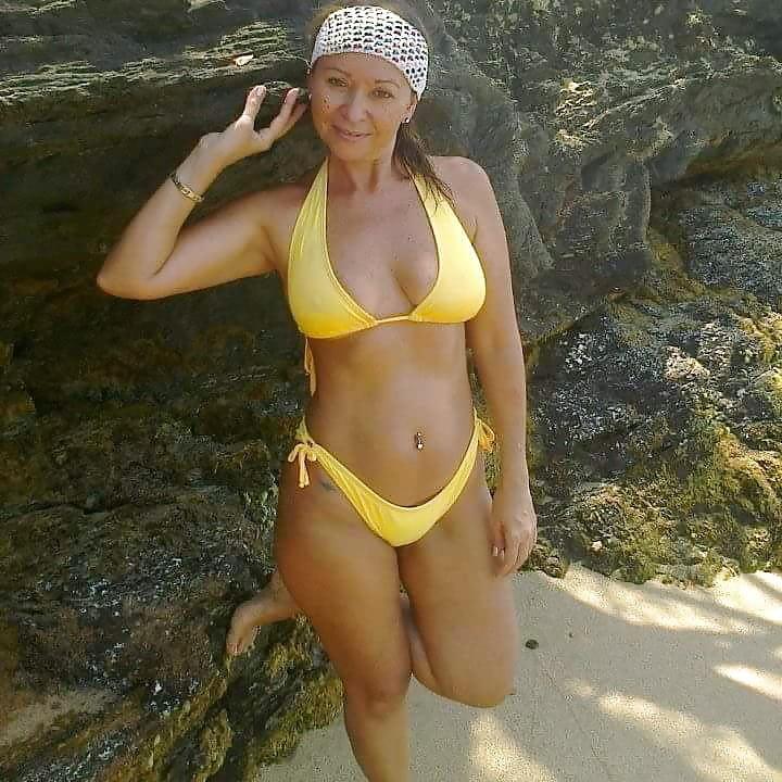 Young french slut on holidays in brazilian bikini