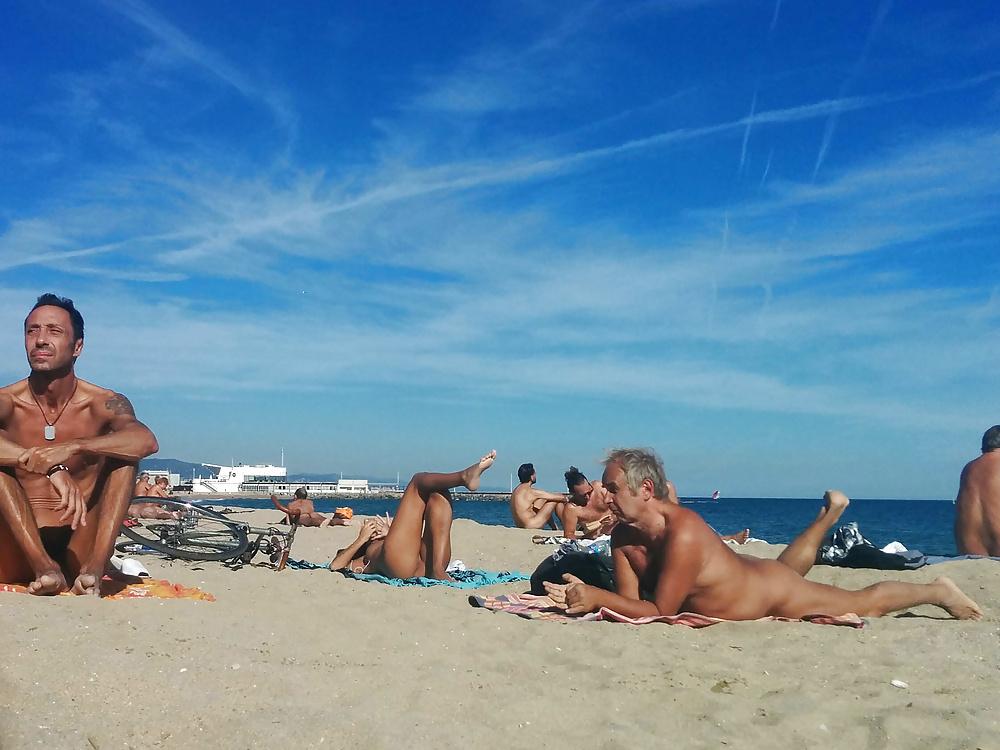 A nude beach