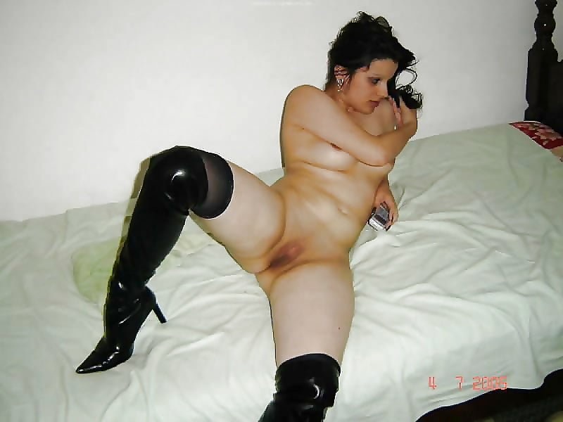 Warm Naked In Boots Pic