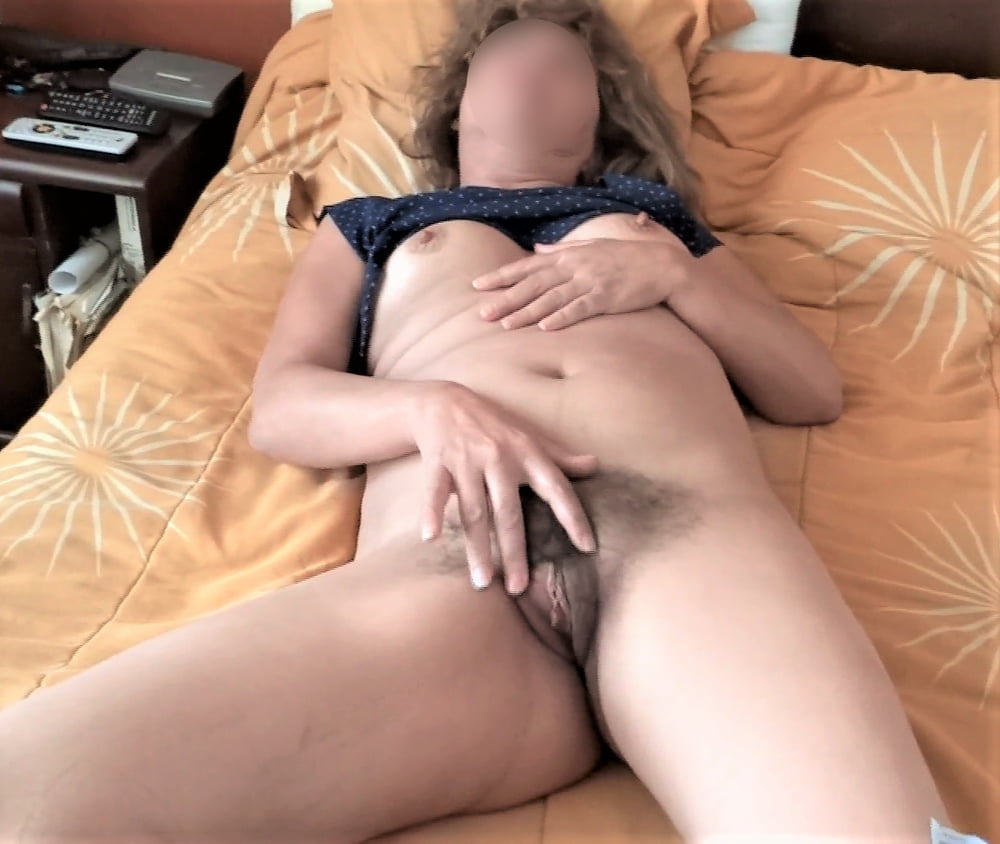 MY HAIRY WIFE, LOOK AT HER VIDEOS TOO - 62 Pics
