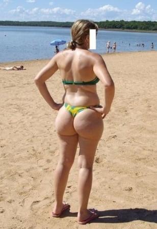 Beach pawg PAWG Porn