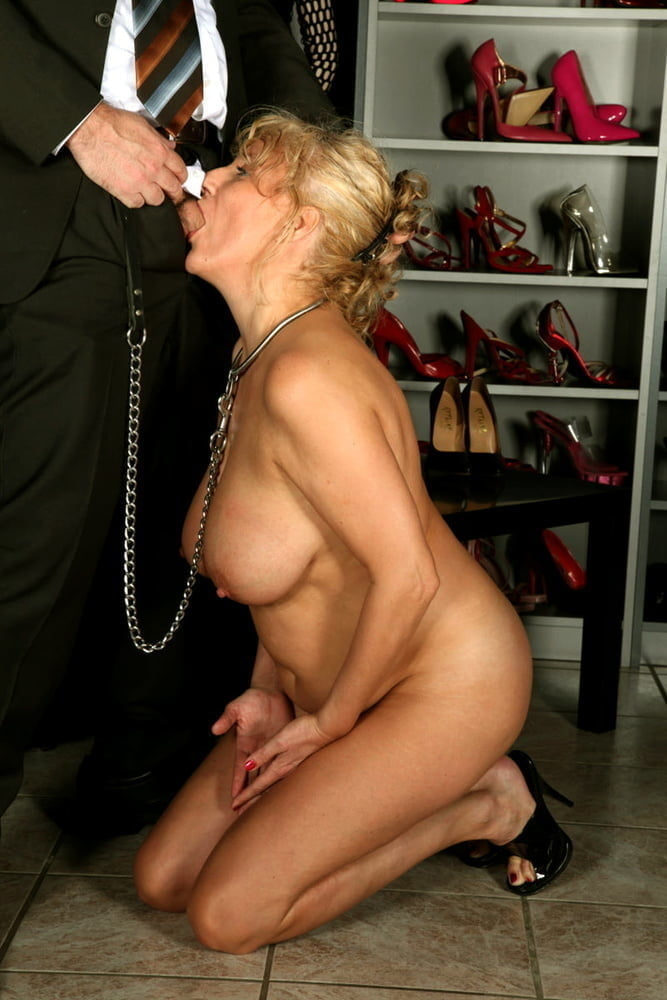 Horny Blonde Mom Concocts Elaborate Blowjob Punishment For 1