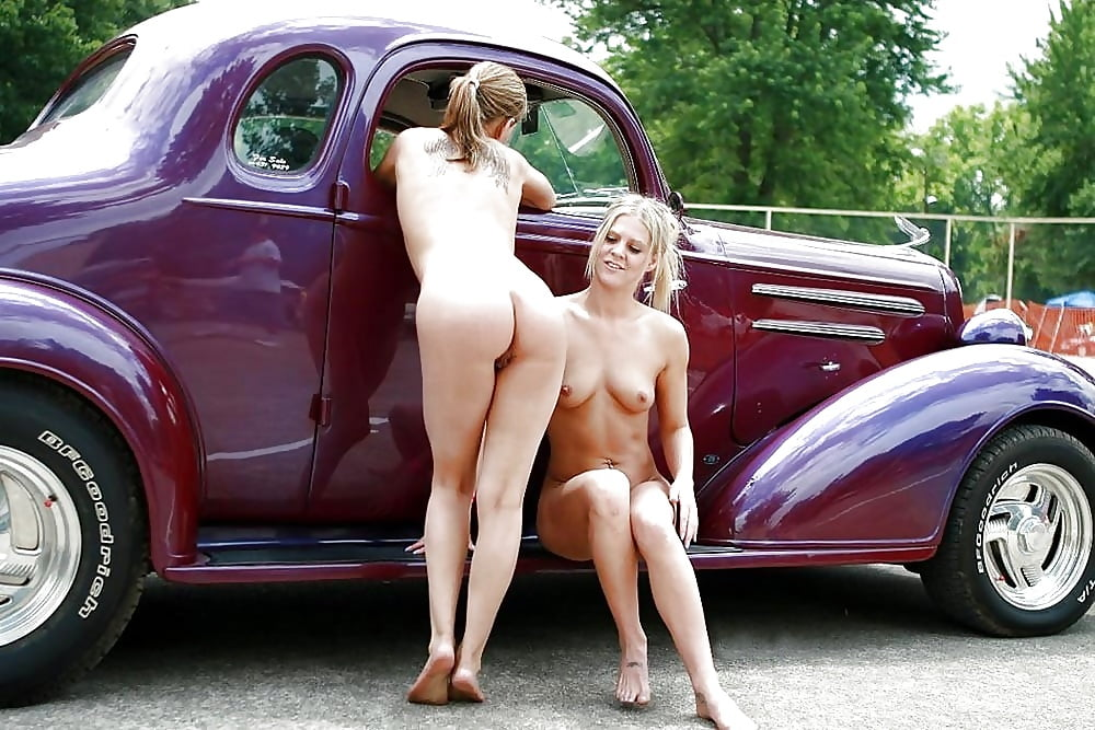 Hot rod girls behind scenes nude, fucking tongue in pussy