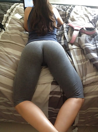through pants Thong yoga