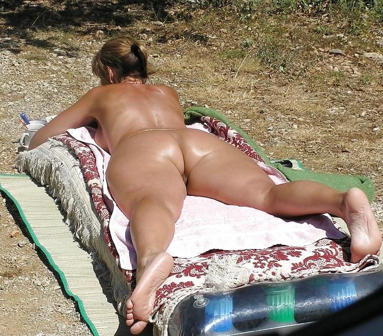 Fat bikini butts