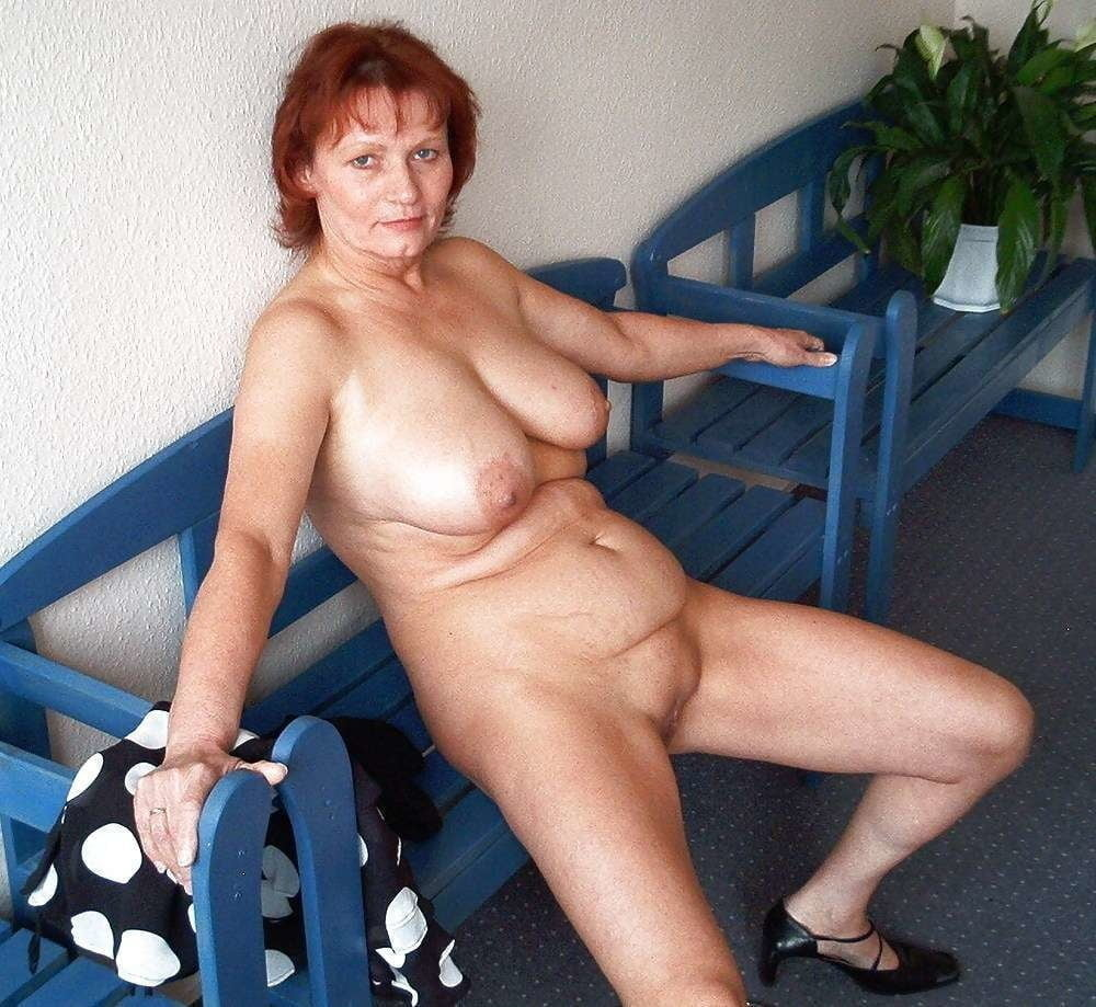 Mature small naked woman