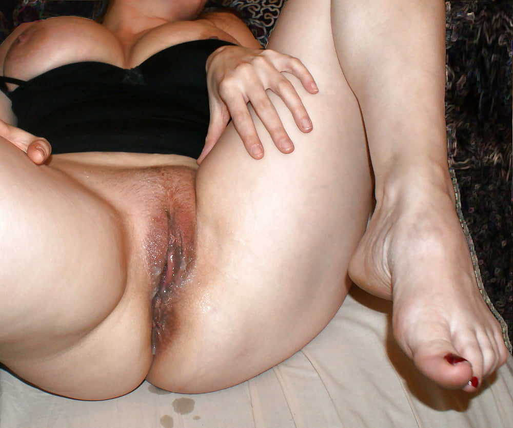 Ariella with cock in her pussy, fingering her ass
