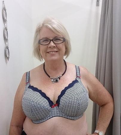 In bra granny These Vintage