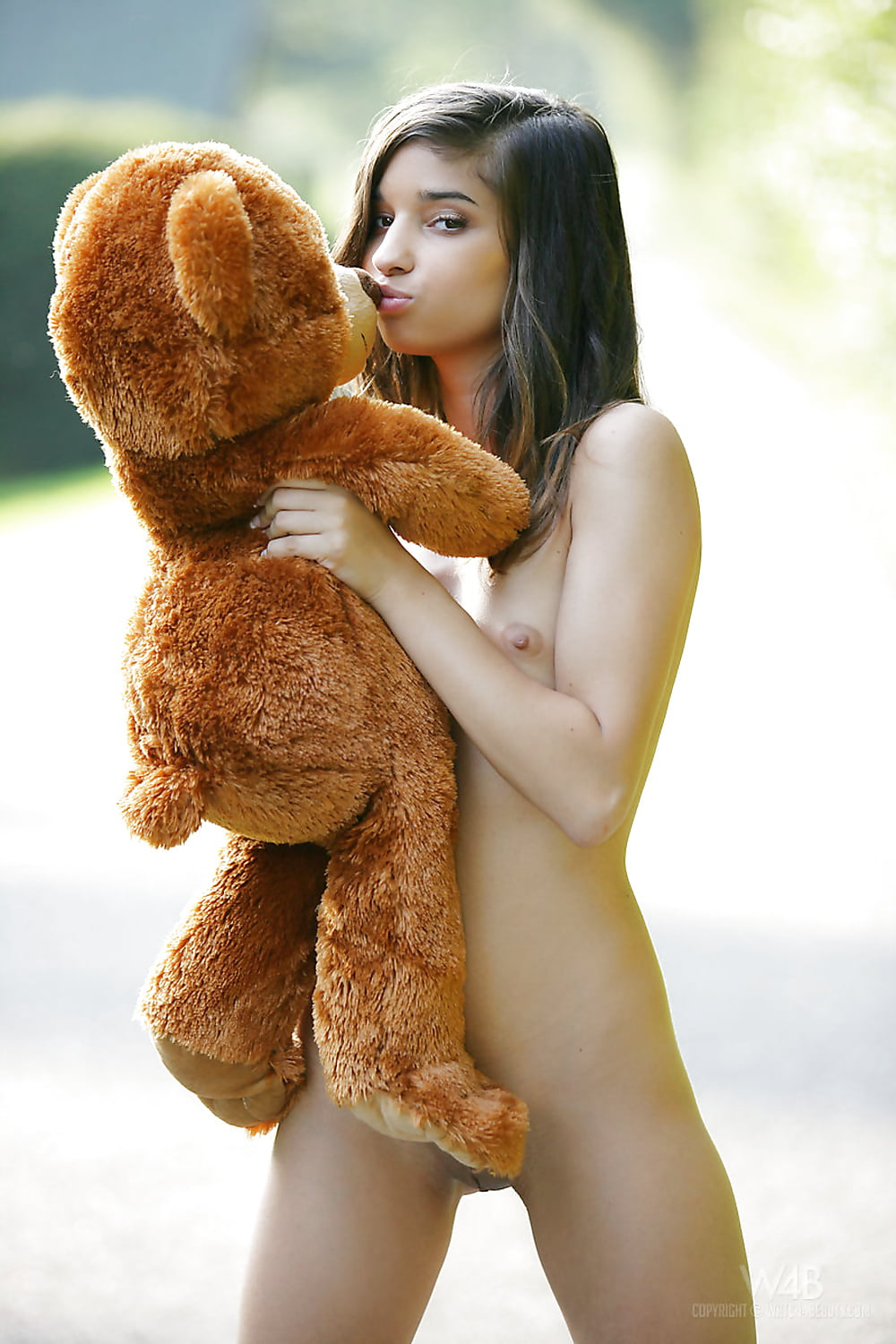 Teddy bear blowjob