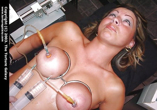 Saline Injection In Pussy