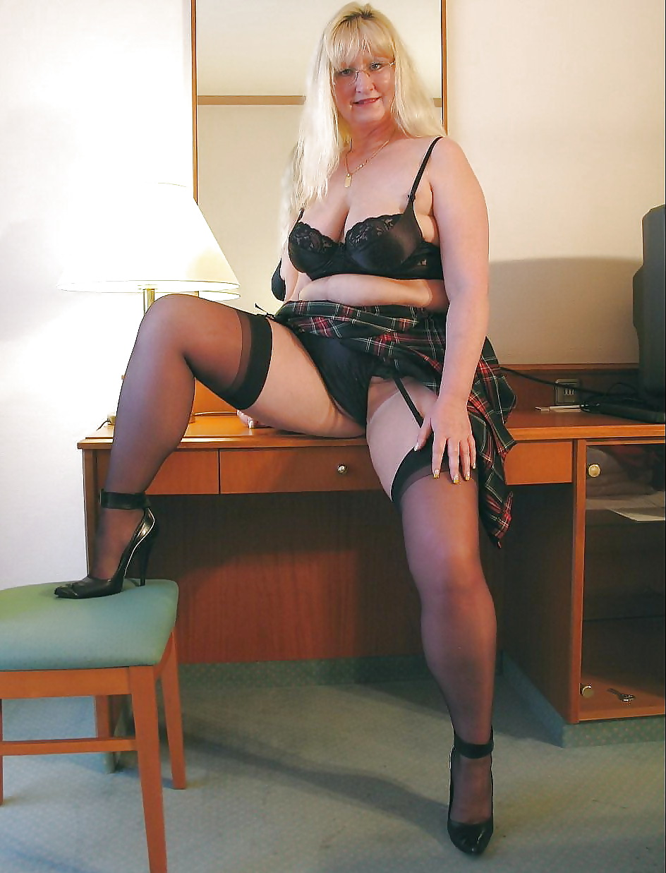 Chubby Slut With Legs Open - See and Save As mature and or chubby legs spread to show panties porn pict  - 4crot.com