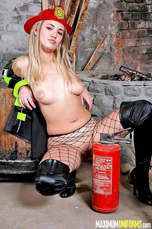 трах пожарник фото
