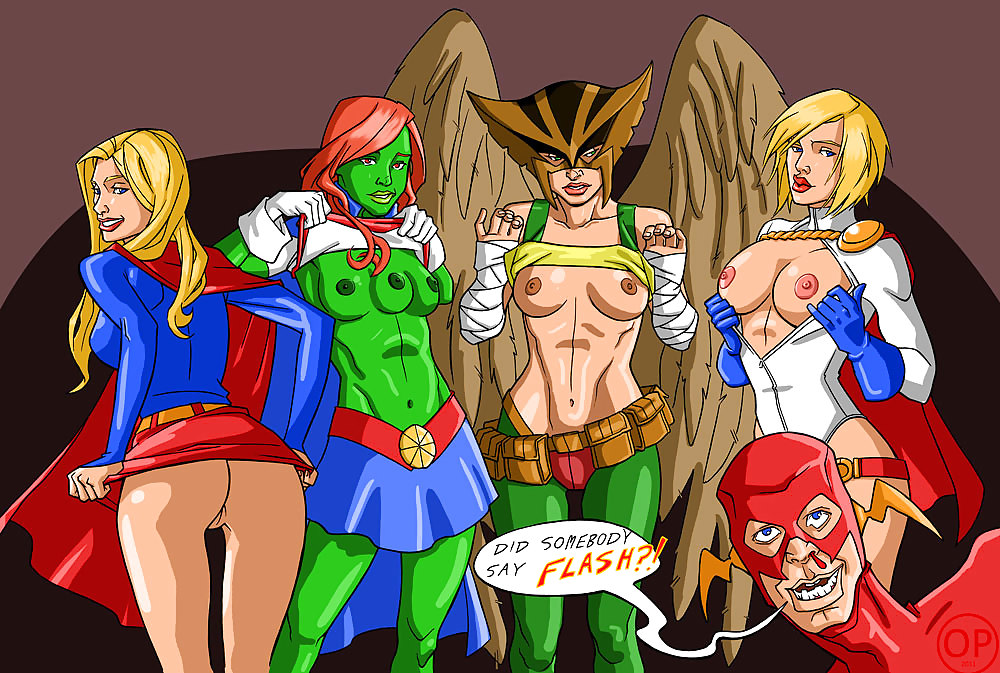Superhero Gay Naked