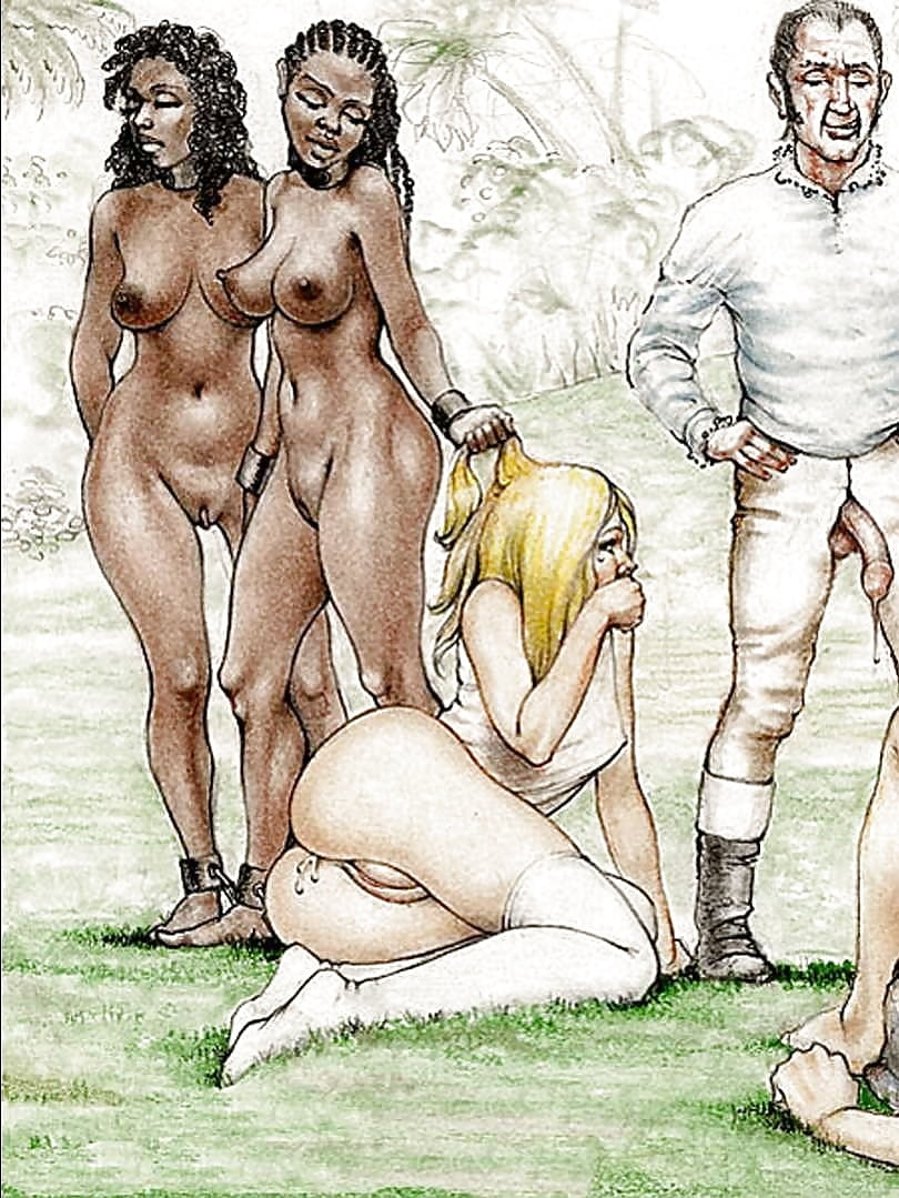 Naked slavegirl cartoons — photo 6